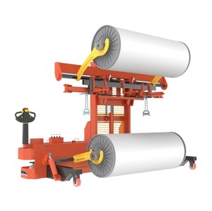 ELECTRIC WARP BEAM HIGH LIFT TRUCK ( FOR PILE AND GROUND BEAM )