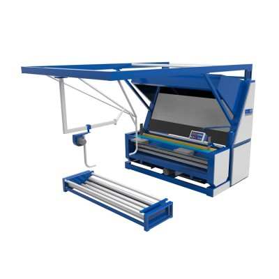 GRAY FABRIC SLITTING & INSPECTION MACHINE