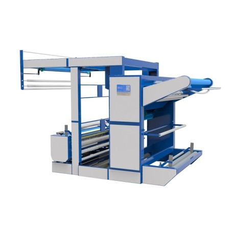 OPEN WIDTH KNITTED FABRIC INSPECTION MACHINE ( ROLL/PLAIT TO ROLL/PLAIT )