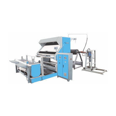 FABRIC WINDING MACHINE ( WITH DIRECT CENTRE DRIVEN SYSTEM )