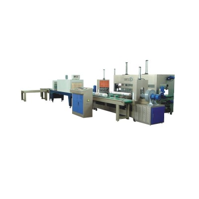 AUTOMATIC FABRIC ROLL PACKING MACHINE ( LINEAR FABRIC INSPECTION AND PACKING LINE )