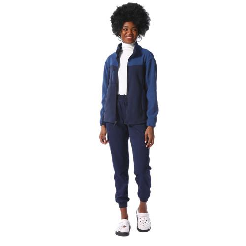 护士用徽标脖子磨砂制服设计医用制服舒适且百搭的外套