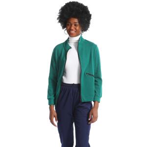 护士制服外套设计徽标领口设计医疗外套舒适的多功能外套