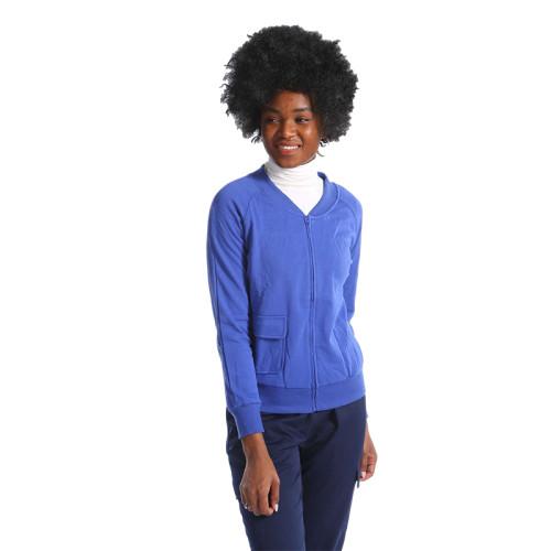 医务人员设计徽标领口医用制服舒适的多功能外套