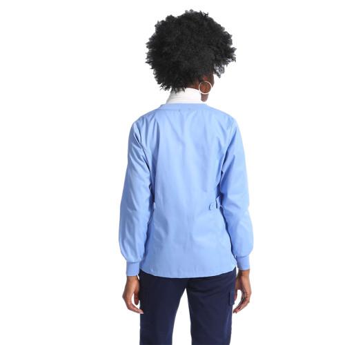可以定制护士制服外套设计徽标来设计长短医疗外套