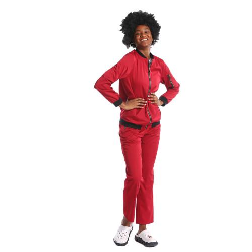 高品质专业护士磨砂工作服医院制服可定做尺寸