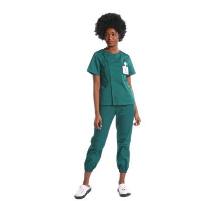可以定制尺寸的高品质专业护士磨砂制服