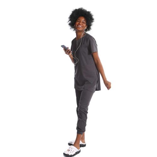 高品质专业定制医疗磨砂服设计徽标Comfort国际标准