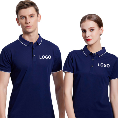 Unisex Modern Retail Uniforms   Short Sleeve Polo Shirts Collar   Cheap Uniforms In Retail Affordable