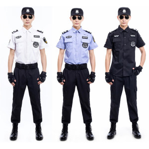 Customized Security Uniform Sets In Various Patterns
