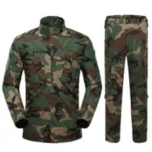Camouflage Guard Uniforms Customized In Various Styles