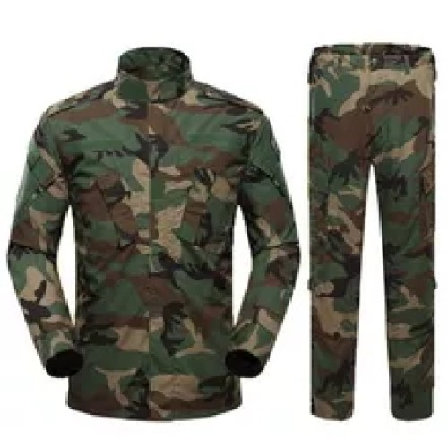 Camouflage Guard Uniforms | Men's Combat Uniform Set Shirt And Pants Set | Suitable For Military Airsoft Paintball Hunting