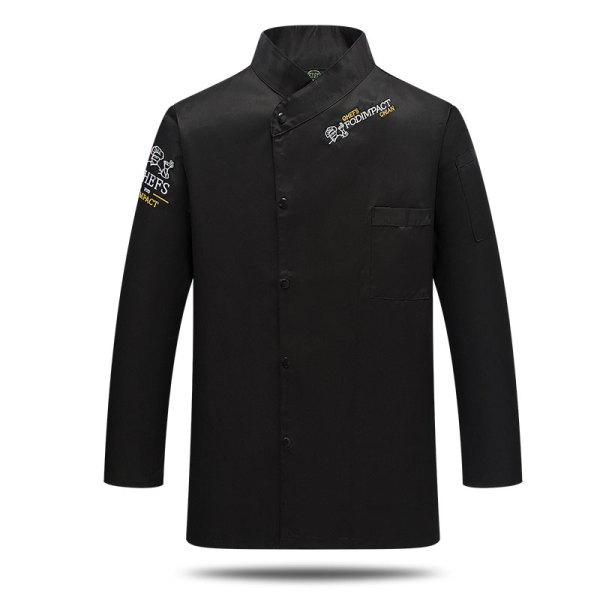 便宜的彩色餐饮制服,可定制徽标并接受OEM / ODM