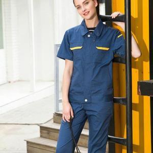 Unisex Logistics Uniforms | Short Sleeve Invisibly Zip Up Logistics Uniforms | Quality Logistics Uniforms Affordable