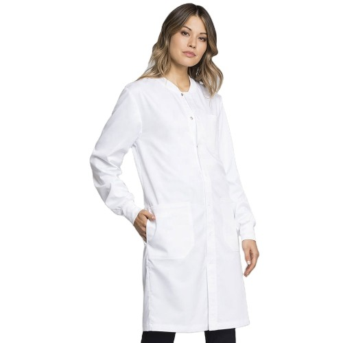 Lab Coats For Women | Button Up Solid Lab Coats And Scrubs | Cheap Quality Lab Coas Custom
