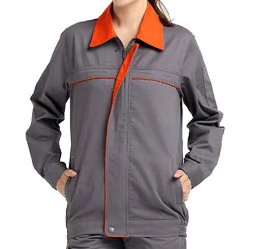 Unisex Engineer Uniforms Suits | Invisibly Zip Up Long Sleeve Engineer Uniforms Coats | Engineer Construction Uniforms Affordable