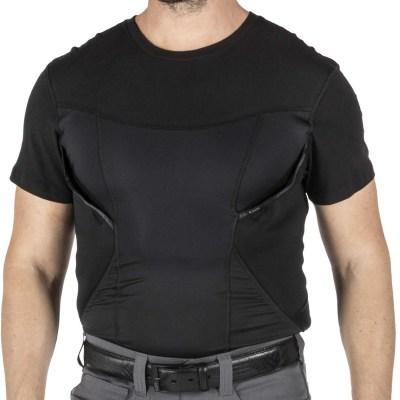 批发保安制服战术三角短袖打底衫