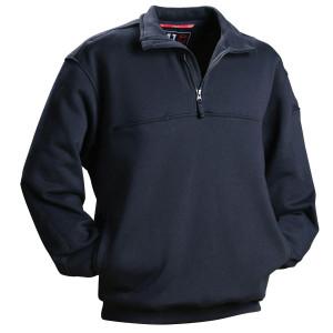 Men's Security Uniforms Shirts | Zip Half Placket Solid Security Uniforms Shirts | Custom Security Uniforms Shirts Wholesale