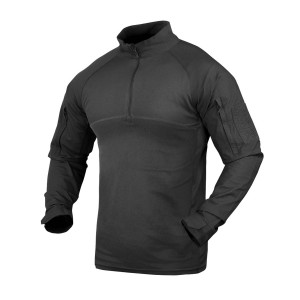 Men's Security Guard Uniforms Shirts | Long Sleeve 1/4 Zip Tactical Shirts | Tactical Military Shirts Wholesale
