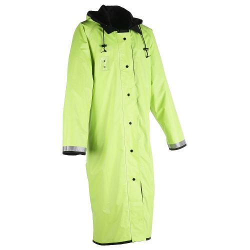 Unisex Security Raincoats Reusable   Lightweight Rain Jackets with Hood Reflective   Custom Rain Jackets Knee Length