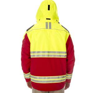 Reflective Quality Security Guard Uniform | Conspicuous Color Block Security Guard Uniform | Security Guard Uniform Wholesale