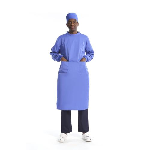 Unisex Reusable Medical Gowns   Long Sleeve Medical Gowns Washable With Elastic Cuff   Custom Medical Gowns For Doctors Affordable