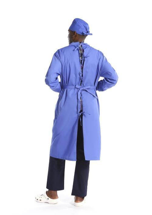 可重复使用的长袖医用隔离衣