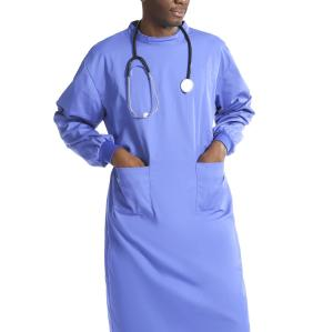 Unisex Reusable Medical Gowns | Long Sleeve Medical Gowns Washable With Elastic Cuff | Custom Medical Gowns For Doctors Affordable