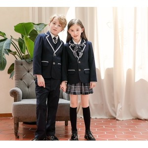 The Children's Suits Boy's And Girl's School Uniforms