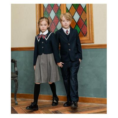 男童女童经典校服套装