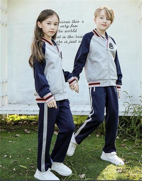 Summer School Uniforms Sets | Polo Shirt With Pleated Skirt | Breathable Quick Drying School Uniform | OEM&ODM