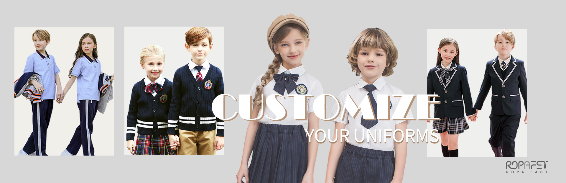 Customize your uniforms