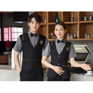 Basic Catering Server Uniforms | Shirt With Vest And Pants Catering Uniforms | High Quality Uniforms For Catering