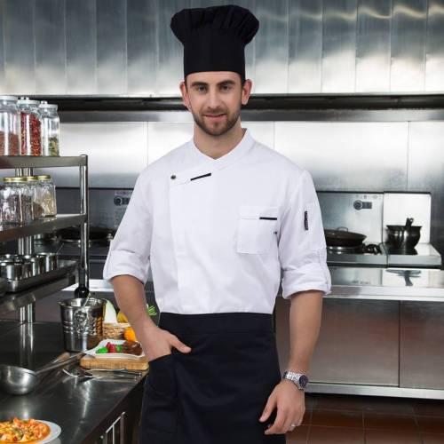 长袖厨师外套厨师夹克