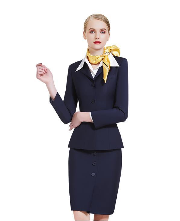 Flight attendant skirt