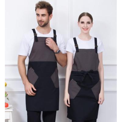 Unisex Aprons With Pockets | Color Block Promotional Uniforms Cheap | Apron Dresses Wholesale