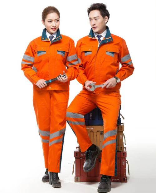 Unisex Construction Worker Uniforms | Reflective Strips Construction Uniforms Safety | Custom Construction Uniforms With Logo