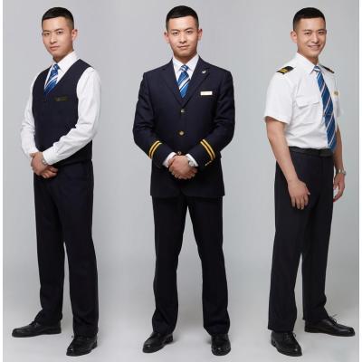 Pilot Costume Sets For Men | Quality Commercial Airline Pilot Uniforms | Custom Airlines Pilot Uniforms Wholesale