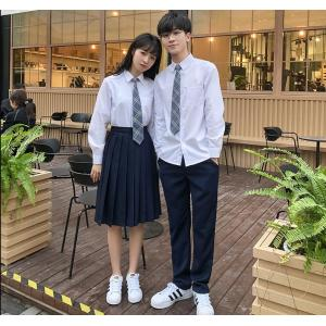White School Uniform Shirt with Skirt And Pant Set