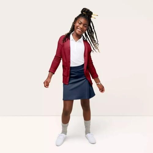 女童短袖校服 Polo 衫