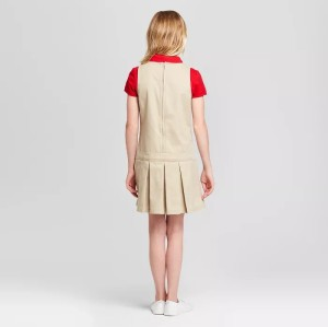 School Uniforms For Girls | Cotton School Uniforms Jumper Dresses Quality | Custom Nice School Uniforms Dresses