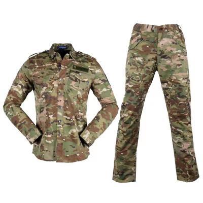 迷彩色保安制服