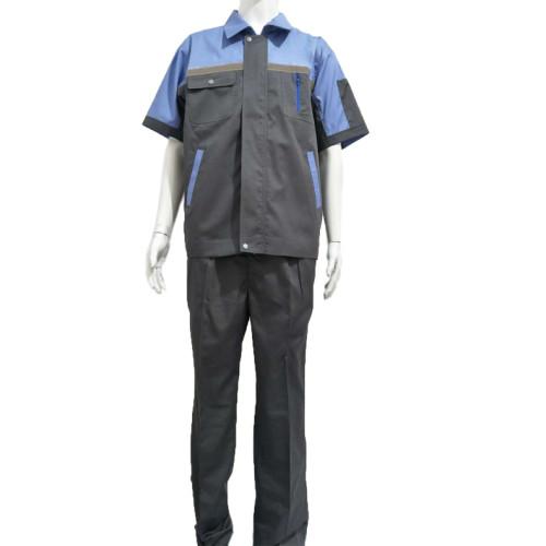 斜纹织物安全机械修理工工程工作制服套装