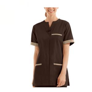 Women's Uniforms For Hotel | Short Sleeve Modern Hotel Uniforms Quality | Hotel Uniforms Housekeeping Affordable