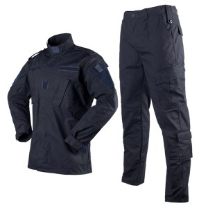 Quality Security Guard Full Uniforms | Zip Up Solid Security Guard Uniforms Sets | Security Guard Uniforms Wholesale