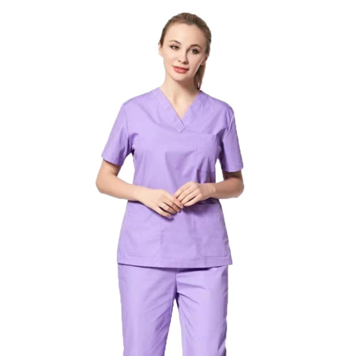 Spa And Beauty Uniforms For Women   V-neck Elegant Spa Uniforms Cotton   Beauty Salon Uniforms Affordable