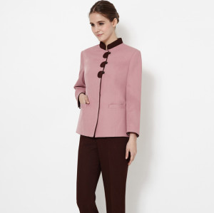Women's Hotel Housekeeping Uniforms | Cotton Modern Housekeeping Uniforms Sets | Quality Housekeeping Uniforms Wholesale
