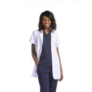 Unisex Lab Coats And Scrubs   White Lab Coats Short Sleeve Professional   Breathable Lab Coats Custom