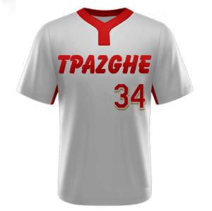 Uniforms For Baseball Team | Short Sleeve V-neck Baseball Team Shirt Jerseys | Quality Baseball Team Uniforms Wholesale