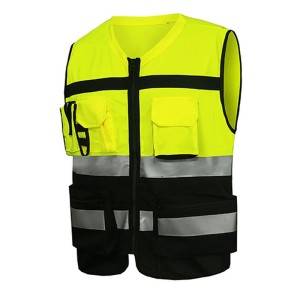 Quality Safety Vests With Pockets | Reflective Safety Vests High Quality | Custom Safety Vests With Logo